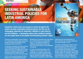 SEEKING SUSTAINABLE INDUSTRIAL POLICIES FOR LATIN AMERICA